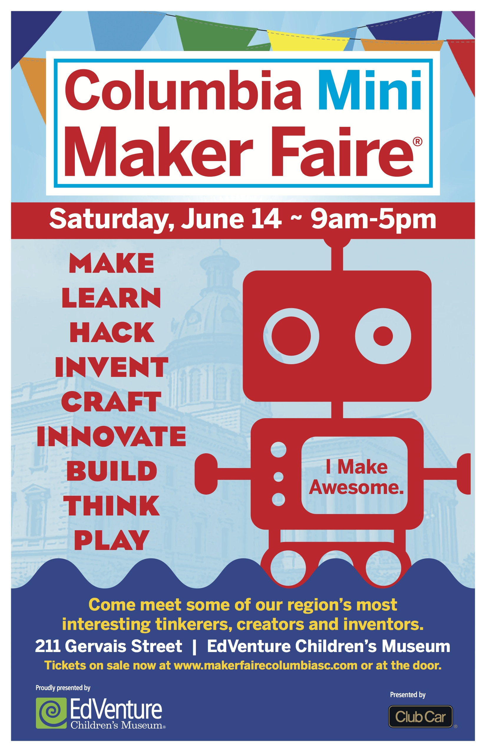 ReFashionista is Coming to the Columbia Maker Faire! 2